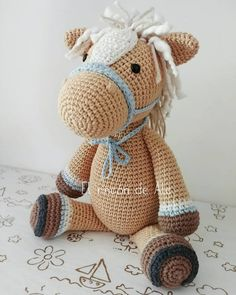 Amigurumi Horse and Donkey – A Free Crochet Pattern – Free Amigurumi Crochet Patterns! Crochet Amigurumi Free Patterns, Crochet Animal Patterns, Stuffed Animal Patterns, Crochet Animals, Free Crochet, Crochet Crafts, Crochet Projects, Half Double Crochet Decrease, Crochet Horse