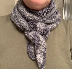 A Quick Little Scarf Knit For a Visit North – New England's Narrow Road