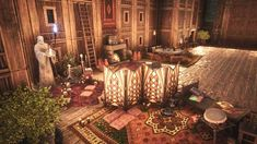 Post with 5330 views. Base Building, Building Ideas, Homework Planner, Conan Exiles, Throne Room, Conan The Barbarian, Entertaining, Table Decorations, Ark