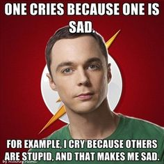 Sheldon is #awesome  LOL