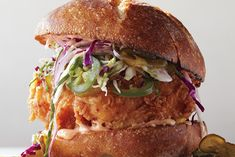 Find the recipe for Fried Chicken Sandwich with Slaw and Spicy Mayo at Epicurious.com