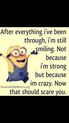 That's the way it is! Cute Quotes, Funny Quotes, Funny Facts, Funny Humor, Minions Love, Funny Minion, Minions Quotes, Minion Sayings, Thats The Way