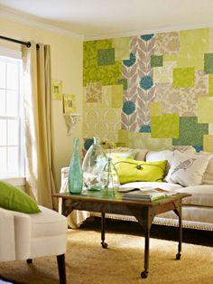 Interior Yang Segar Dengan Warna Hijau
