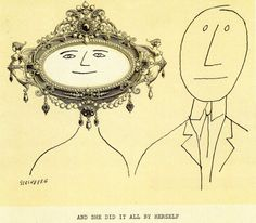 His elegant line and imaginative conceptions brought him many offers from the commercial world. Textile manufacturers and advertising agencies wanted his Saul Steinberg, Smart Set, The New Yorker, Figure Painting, Daydream, Comic Strips, Contemporary, Modern, Figurative