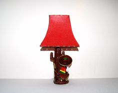 Vintage Lamp  Cactus Sombrero by CheekyVintageCloset on Etsy, $34.00