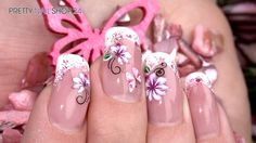 #trendstyle #trend #rosa #white #nails Für verführerische und elegante Looks ist das Zusammenspiel dieser Farben einfach perfekt. Während Trendsetterin Angelina Heger mit einem romantischen Outfit in rosa-weiß auf dem roten Teppich glänzte, haben wir ein Design in dieser traumhaften Kombi auf die Fingernägel gezaubert. Wie einfach das geht, zeigen wir Dir jetzt: Hier findest Du alle verwendeten Produkte: http://www.prettynailshop24.de/shop/trendstyle-star-rosa-weiss-video_423.html#Produkte