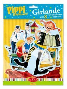 Pippi Girlande: Amazon.de: Spielzeug