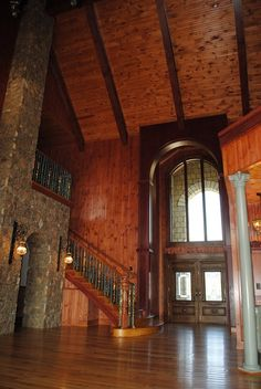 Doors, staircase, arched doorways, ceiling, floors... BEAUTIFUL!