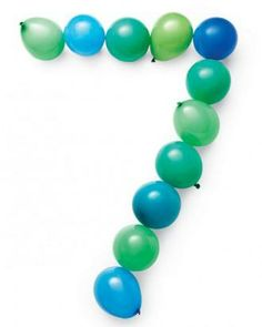 Number-Themed Party: Balloon Numbers How-To
