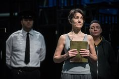 """Playing Prospero, Harriet Walter heads a multi-ethnic, all-women cast in Phyllida Lloyd's production of William Shakespeare's """"The Tempest."""""""