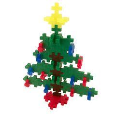Plus Plus Christmas Tree Mini Maker Tube Christmas Kitten, Christmas Tree Farm, Christmas Fun, Plus Plus Construction, Construction For Kids, Plus Plus Modele, Creative Play, Simple Shapes, Building Toys
