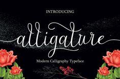 Alligature script from FontBundles.net