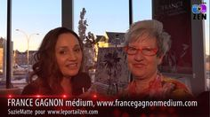 #francegagnon #medium #salondeleveil2016 #smattevideowebmedia #leportailzen France, Zen, Medium, Portal, Medium Long Hairstyles, French