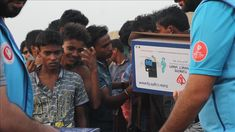 Diyanet Foundation gives solar power packages to Rohingya