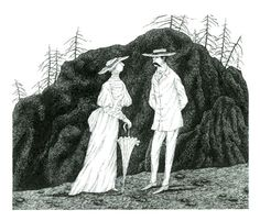 Helen and Edgar - Edward Gorey