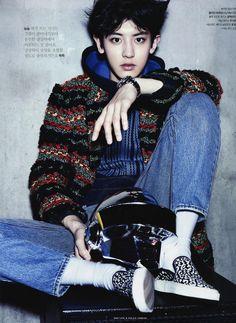 Chanyeol - The Celebrity magazine, November 2014 issue