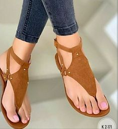 Descriptions: Feature:Non-Slip,Wearable Shoes Style:Buckle Strap Sole Material:Rubber Sandals Style:Thong Sandals Toe Type:Round Toe Heel Height:Flat Gender:Wo Rubber Sandals, Beach Shoes, Beach Sandals, Brown Sandals, Women's Sandals, Dress Sandals, Fashion Sandals, Summer Shoes, Womens Flats