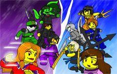 Lego ninjago OCS #10 by MaylovesAkidah