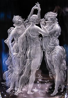 Moser glass in 2020 Stained Glass Art, Stained Glass Windows, Statues, Vases, Sandblasted Glass, Glass Engraving, Crystal Glassware, Glass Photo, Antique Glass