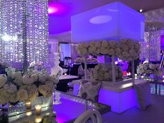 BLACK & WHITE WEDDING Decor by Darryl & Co.