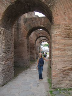 The Ancient Ruins Rome Italy
