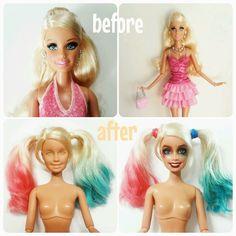 Custom Harley Quinn doll