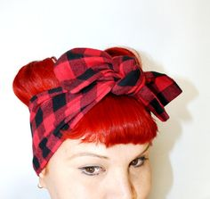 these scarf style headbands are the best! i got the large size for versatility.