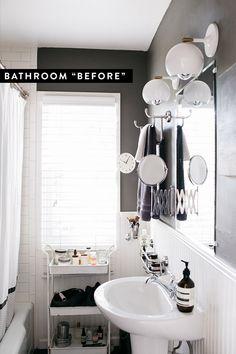 bathroom remodel begins!