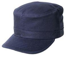 Blank Army Cap - Navy