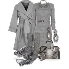 """""""At least 10 Shades of Grey"""" by fantasy-closet on Polyvore"""