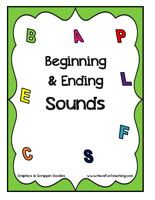beginning & ending sounds