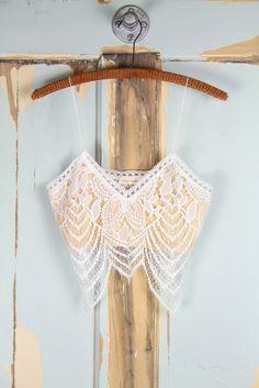 50f9c1a139  33 sugarcloth White Lace Bralette