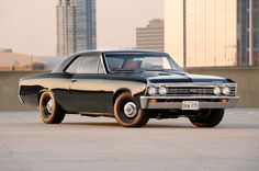 This 1967 Chevelle doesn't look like much at first glance, but it packs a huge punch with its LS engine. Check out this amazing blacked-out Chevelle! 1967 Chevelle Ss, Chevrolet Chevelle, Chevy, Trans Am, Firebird, Bel Air, Ls Engine, Car Makes, Impala