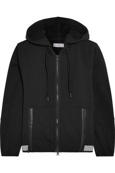 8f53931605 ADIDAS BY STELLA MCCARTNEY Jersey Hooded Sweatshirt.   adidasbystellamccartney  cloth  sweatshirt Black Zip