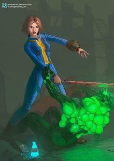 Fallout 4 by grindeath-art.deviantart.com on @DeviantArt