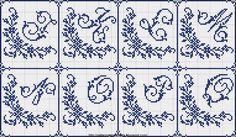 Free Easy Cross, Pattern Maker, PCStitch Charts + Free Historic Old Pattern Books: Sajou No 603