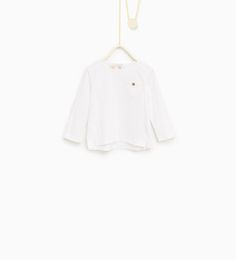 Broderie anglaise T-shirt-T-SHIRTS-Baby girl-Baby | 3 months - 3 years-KIDS | ZARA United States