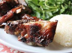 Grilled Pork Neck, Thai-Style