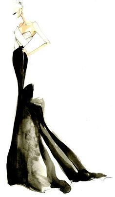 Donna Karan Atelier Sketch