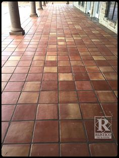 X Traditional Sealed Mexican Saltillo Tile With X Cantera - 4x4 terracotta tile