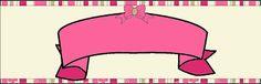 Imprimibles de flores y rayas rosa 6.