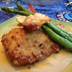 Mahi mahi stuffed with lobster and crab at Mama's Fish House in Paia.   Make a reservation!