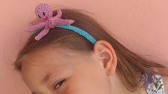 Hairband with needles Legs with needles Head with needles Hair Band, Octopus, Knits, Legs, Knitting, Mini, Fashion, Moda, Tricot