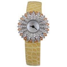 BUCCELLATI Diamond Daisy Watch.