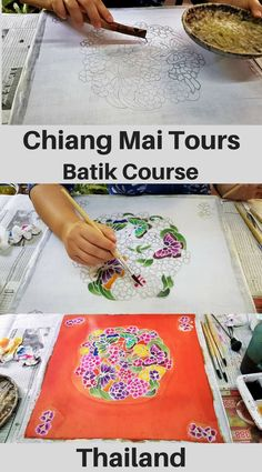 Travelling to Chiang Mai Thailand and looking for different things to do in Chiang Mai? For alternative Chiang Mai Private Tours try one of the may Backstreet Academy tours for a unique experience such as learning the ancient art of Batik taught by local Thailand Destinations, Thailand Travel, Asia Travel, Travel Usa, Travel Destinations, Chiang Mai Thailand, Best Blogs, Plan Your Trip, Ancient Art