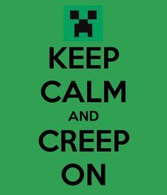 minecraft party ideas | MineCraft - Party Ideas / KEEP CALM AND CREEP ON -