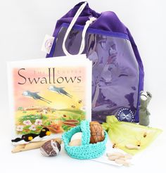 The Easter Swallows Sensory Tale  Two swallows retell this charming story of Easter. The gentle language, gorgeous sensory-rich artefacts, exciting facts and activities help bring the story to life