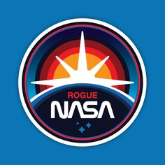 NASA Logo - James White