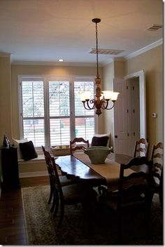 Before & After: Ethereal Dining Room
