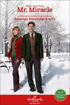 "Its a Wonderful Movie - Your Guide to Family Movies on TV: ""Debbie Macomber's Mr. Miracle"" - a Hallmark Channel Christmas Movie for reading this book now! I just hope that I get done reading it before the movie come on! Hallmark Holiday Movies, Hallmark Weihnachtsfilme, Family Christmas Movies, Family Movies, Christmas Christmas, Hallmark Holidays, Christmas Tunes, Abc Family, Christmas Ideas"